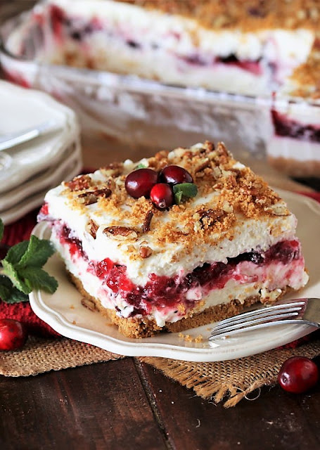 No-Bake Cranberry Yum Yum