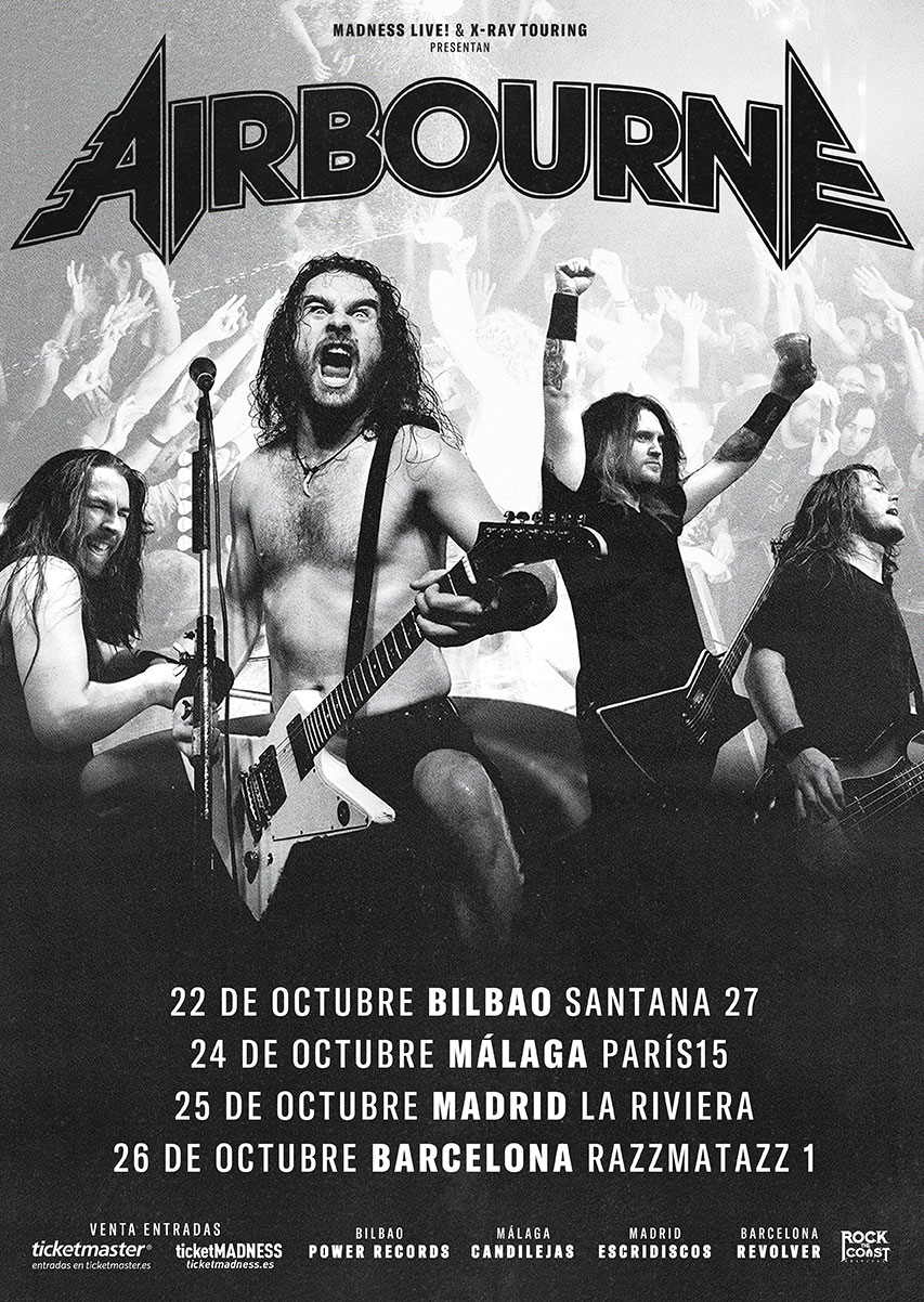 Airbourne tour