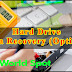 Hard Drive Data Recovery (Option)