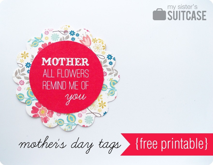 Mother S Day Tags: Mother's Day Tags {free Printable}