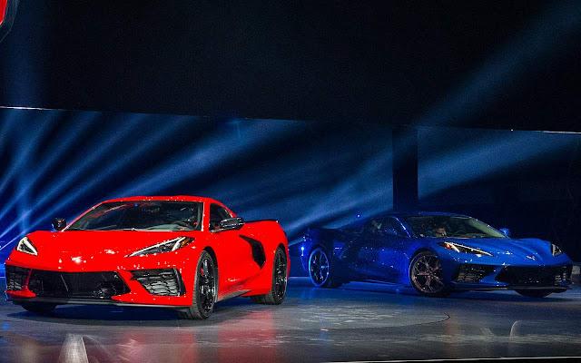 Novo Corvette C8 Stingray 2020