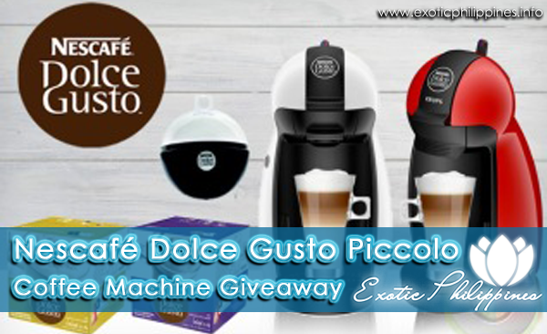 Nescafé Dolce Gusto Piccolo Coffee Machine Giveaway (11/19-12/10)