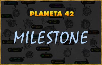 Planeta 42 Milestone