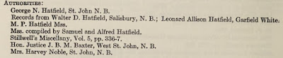 Abraham Hatfield, compiler, The Hatfields of Westchester : a genealogy of the descendants of Thomas Hatfield of New Amsterdam and Mamaroneck, whose sons settled in White Plains, Westchester County, New York, (Rutland, Vermont: New York Genealogical and Biographical Society, 1935), p 100; digital images, Internet Archive (https://archive.org/details/hatfieldsofwestc00hatf_0/page/n1/mode/2up : accessed 23 Jun 2020).