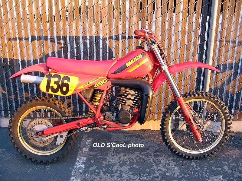 OLD S'CooL MX: 1983 MAICO 490 Sandspider