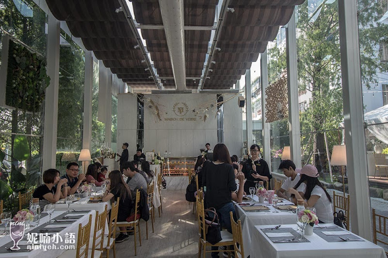 【高雄美食】Maison de Verre 梅森維拉玻璃屋。網美IG瘋拍景觀餐廳