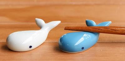 Whale Chopstick Rest