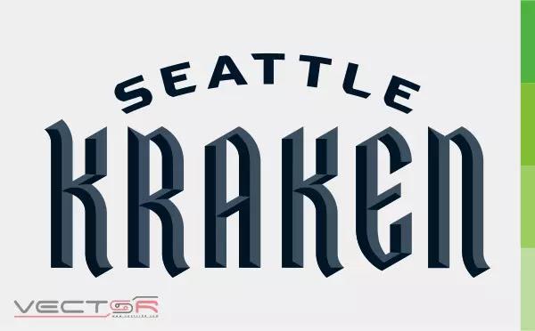Seattle Kraken Wordmark (2020) Logo - Download Vector File CDR (CorelDraw)