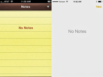 Notepad update on iPhone