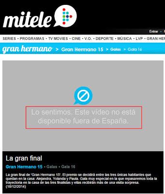 débloquer Yomvi hors d'Espagne avec un VPN Espagne gratuit