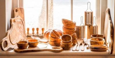 Alat Dapur Berbahan Kayu