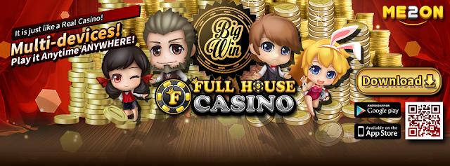 Full House Casino Free Bonus List Collection
