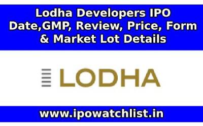Lodha Developers ipo detail