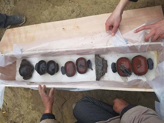 2,300 year old cache of bronze wares unearthed in Chengdu