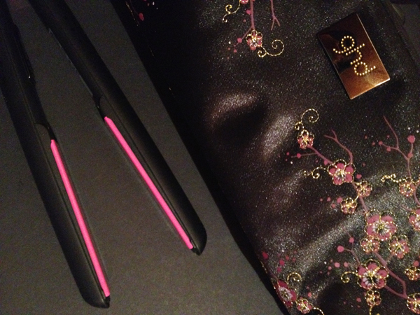 My Limited Edition GHD Cherry Blossom Hair Straightener