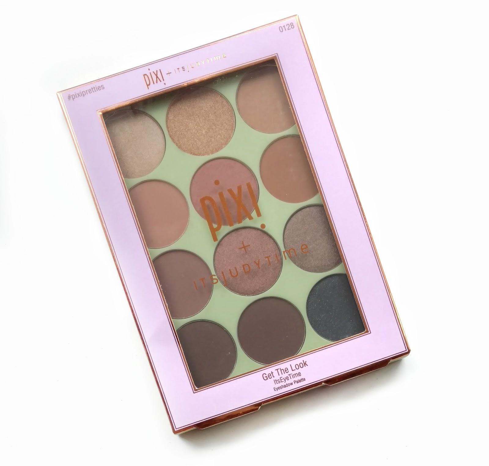 pixi itsjudytime eyeshadow palette review