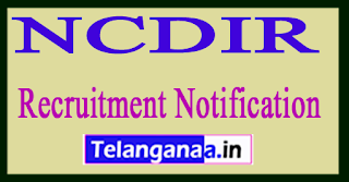 National Center for Disease Informatics and Research NCDIR Recruitment Notification 2017