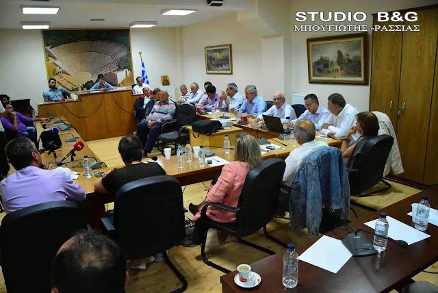 Δημοτικό Συμβούλιο στο Δήμο Επιδαύρου
