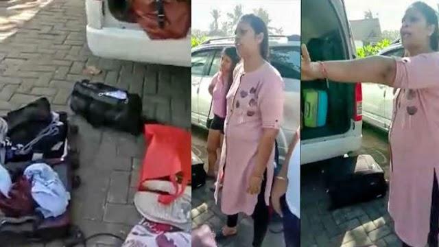 इस परिवार ने विदेश में कटवाई भारतीयों की नाक, होटल के कमरे से हैंगर सहित चुराया पूरा सामान..!