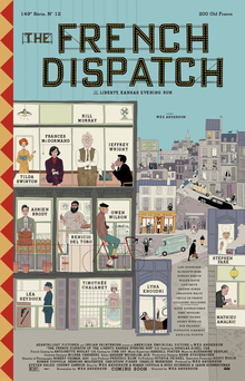Index of The French Dispatch (2020) Download Hollywood Full Movie in 480p, 720p, 1080p Available in English, Hindi, French