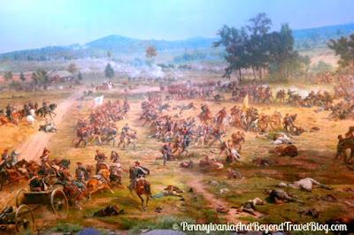 Battle of Gettysburg Cyclorama in Gettysburg Pennsylvania