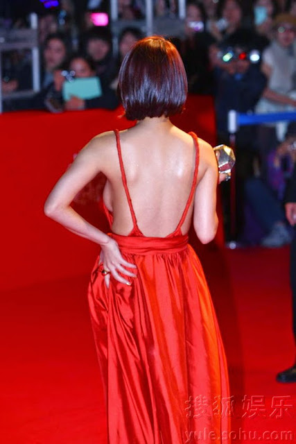 Oh In Hye 오인혜 Hot Red Carpet Dress Photos 11