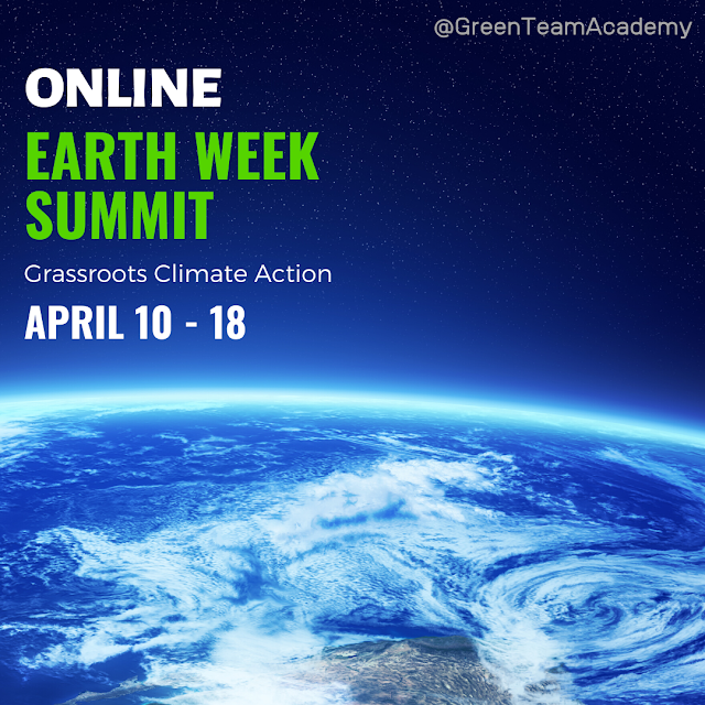 Gather Online to Celebrate Grassroots Climate Action in a FREE Event April 10 - 18, 2020