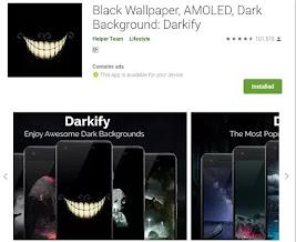 Black Wallpaper download karne Wala App