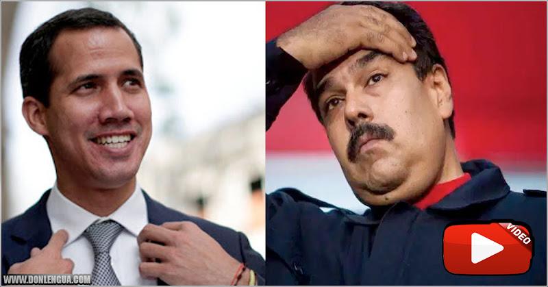 Maduro arrugó al preguntarle sobre detener a Juan Guaidó