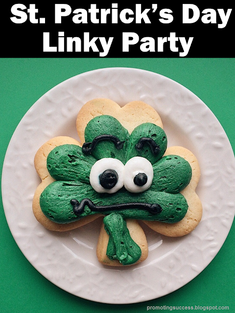 St. Patrick's Day Linky Party for Teachers Blog