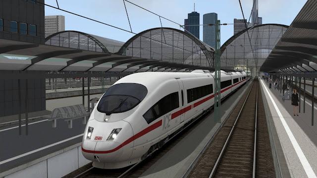 تحميل لعبة قيادة القطار الحقيقي Train simulator مجانا للكمبيوتر والاندرويد برابط مباشر