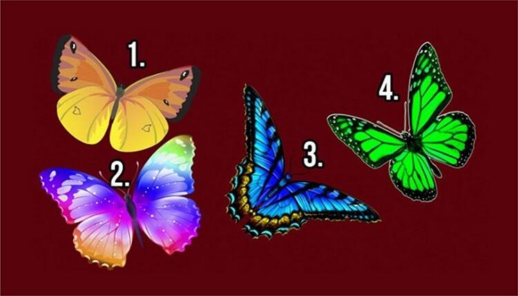 ТЕСТ «Бабочка желаний»
