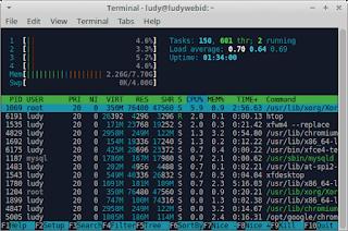 Cara Memonitor Sistem GNU/Linux Menggunakan HTOP