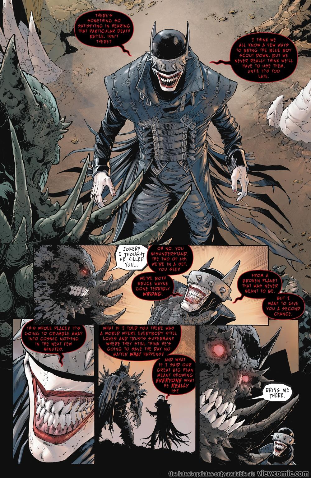 Batman – The Devastator 001 (2018) ………… | Reading Comics