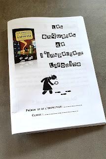 les enquêtes de l'inspecteur Lafouine fichier CE2 CM1 CM2 thème policier cycle 3