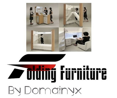 Is your apartment small? Do not despair! Foldable furniture can help you!