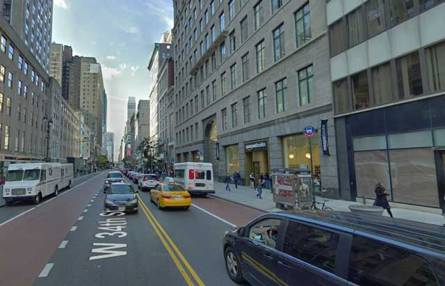 Fifth Avenue at 34th Street, NYC, randommusings.filminspector.com