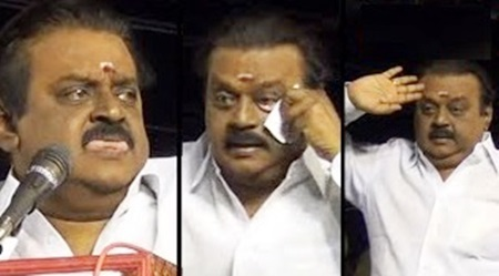 Vijayakanth Angry Moments ! Ultimate reactions