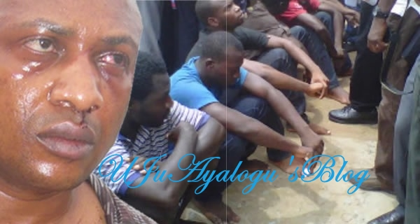 Suspected Evans Workers Granted Bail: My Life Is In Danger, Says Evans Victim, Chief Donatus Dunu, Who Escaped From Den