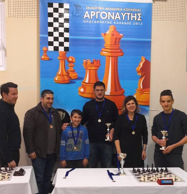 Πρωταθλητής Πελοποννήσου στο σκάκι ξανά ο Π. Λυκουριώτης του ΑΟ Κρανιδίου