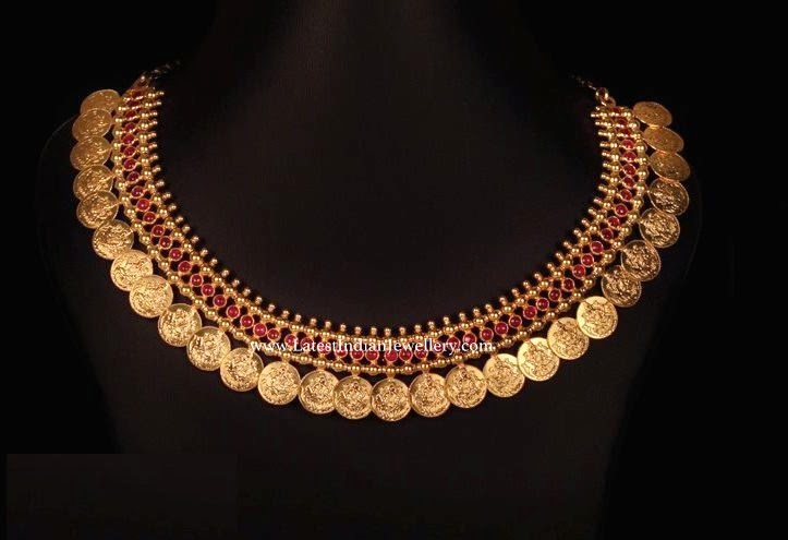 Classic Gold Kasu Necklace