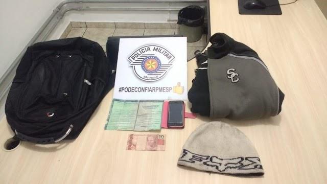 Policiais Militares do 14 BPMI prendem autor de diversos roubos em Registro-SP