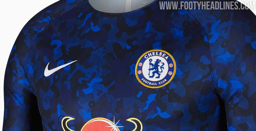 71bebb481 Nike has released a brand-new Chelsea jersey for the second half of the  season. It s a welcome update from the all too crazy 2018-19 pre-match shirt  the ...