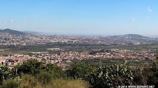 El Samontà urbanizado desde Sant Ramon