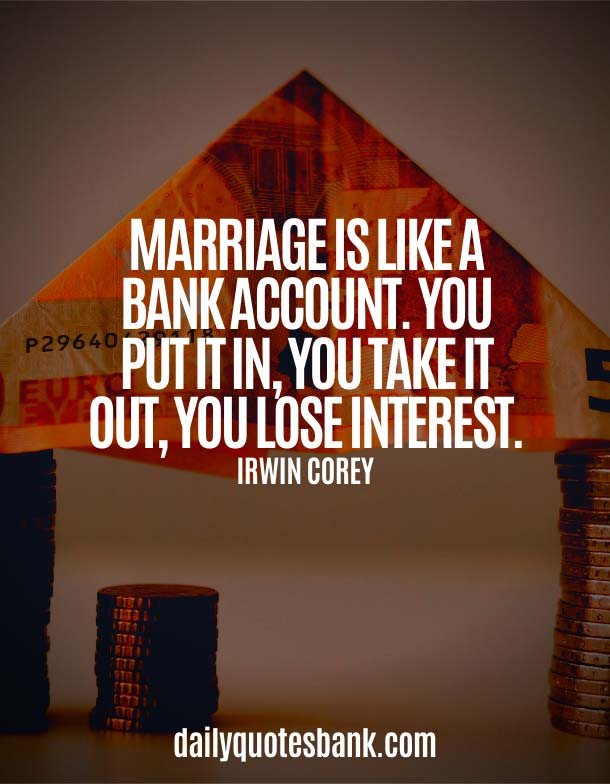 Funny Bank Account Quotes About Banking
