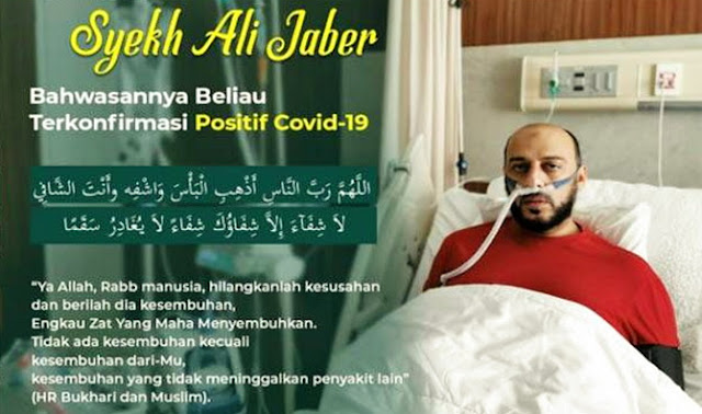 Innalillahi, Syekh Ali Jaber Tiba-tiba Sesak Napas: Saya Sudah Tidak Kuat Lagi