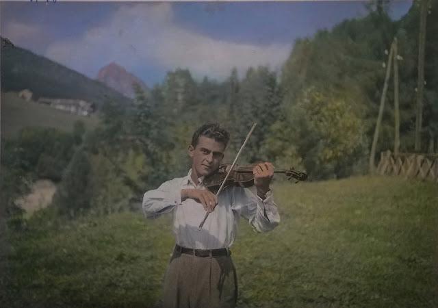 Il violino di papà - Cortina D'Ampezzo