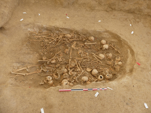 Neolithic burial chamber discovered in northeastern France