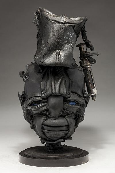 "Ronald Gonzalez - ""Open to Pain"" - 2018 | imagenes obras de arte contemporaneo tristes, depresion, esculturas chidas, creative emotional sad art figurative pictures, cool stuff, deep feelings"