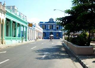 La actual calle Vicente García.